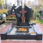 Изготовление памятников с крестом